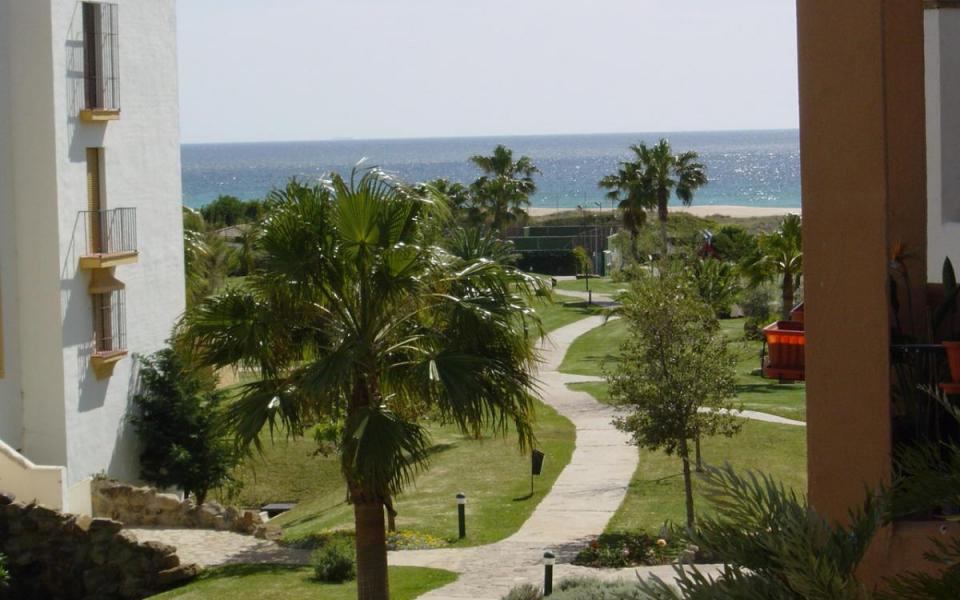Vistas desde apartamento atlanterra playa